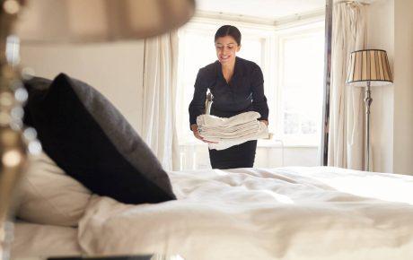 Desinfección en hoteles. Induquim