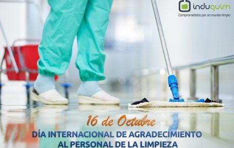 Día internacional de agradecimientos al personal de la limpieza